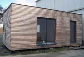 modulární dřevostavba KŮLNA ve Zlíně